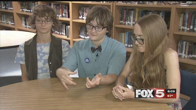 The Yeckes triplets have overcome obstacles to graduate from Valley High School. (FOX5)