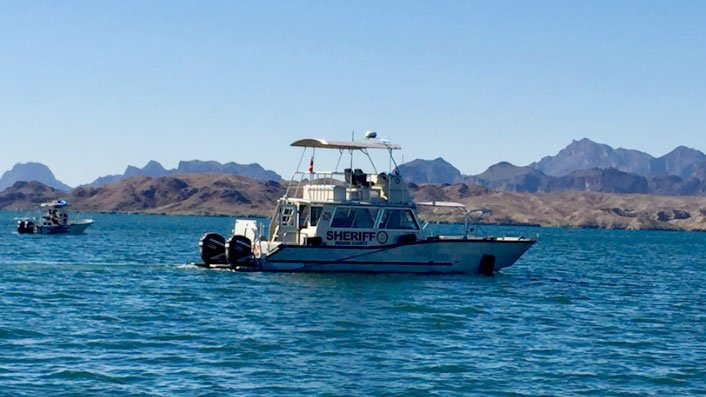 MCSO vessels searched for a missing woman on June 10, 2017. (Source: MCSO)