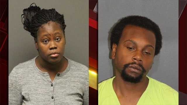 Octavia Jackson (left) and Nicholios Nealy. (Source: LVMPD)