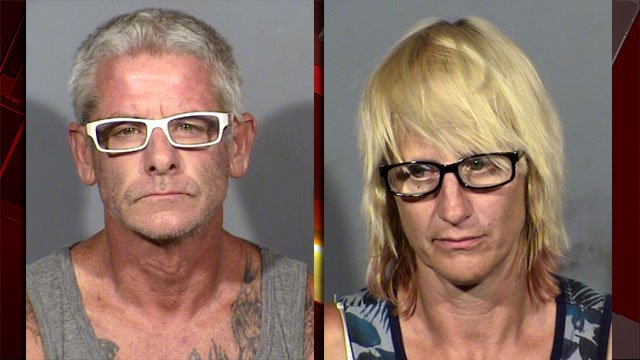 Blane Ward and Charlene King (Source: LVMPD)