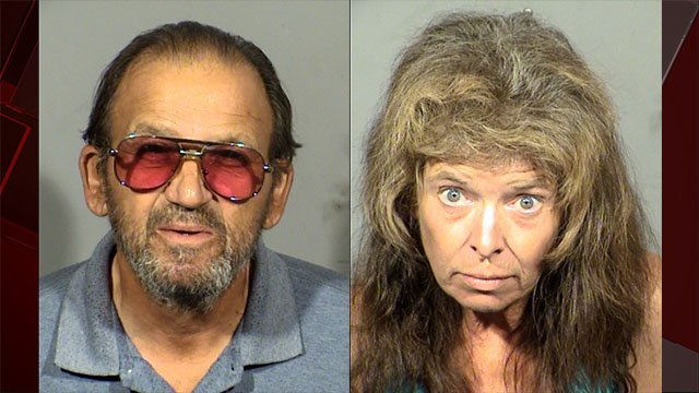 Lawrence Camalleri and Colleen Wyse were charged with arson. (Source: LVMPD)