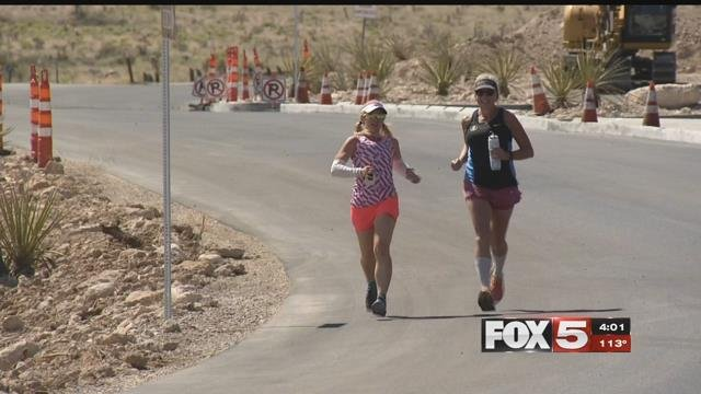 Two Las Vegas women are running the Badwater 135. (FOX5)
