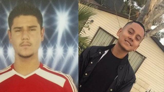 Moises Rivera (left) and Oscar Alvarez (right) were killed in a crash in June 2017.