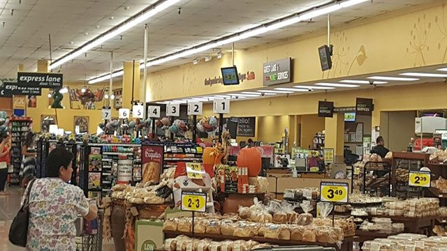 An inside look at a Smith's where a fight ended with a victim doused in lighter fluid (Google/FOX5).