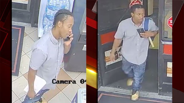 Las Vegas Metro police released images of a person of interest in a sexual assault investigation. (Source: LVMPD)