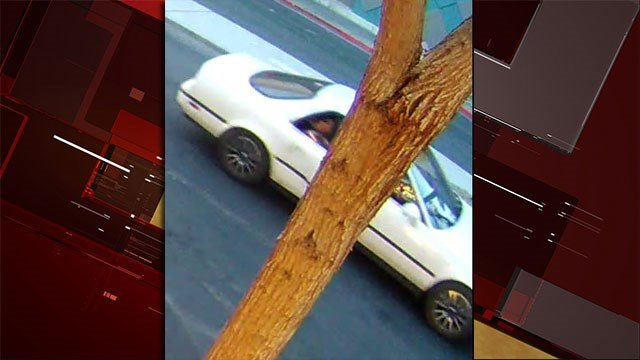 Police released multiple images of a vehicle involved in a shooting on June 25, 2017. (Source: LVMPD)