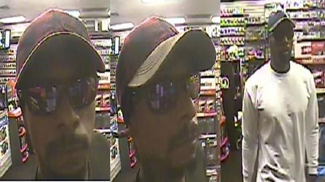 Police released surveillance images of two people suspected of robbing a business in June. (Source: LVMPD)