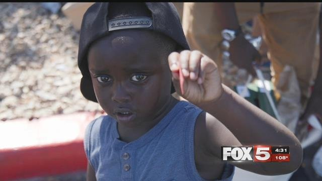 Feel Good Fridays feeds homeless kids in the valley throughout the summer. (FOX5)