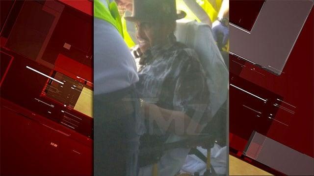 Joe Jackson was treated at University Medical Center after a crash in Las Vegas on June 30, 2017. (Source: TMZ)