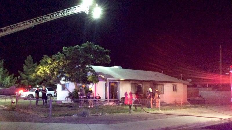 Fireworks linked to las vegas house fire fox5 vegas kvvu for Las vegas home source