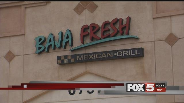 Baja fresh shut down stores in Las Vegas in July of 2017. (FOX5)