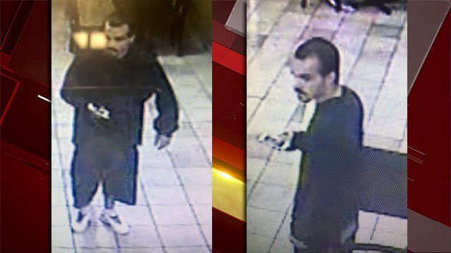 Las Vegas Metro police said they are searching for a person of interest from an April robbery. (Source: LVMPD)