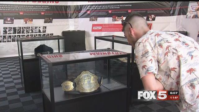 UFC fans came to Las Vegas to enjoy International Fight Week. (FOX5)