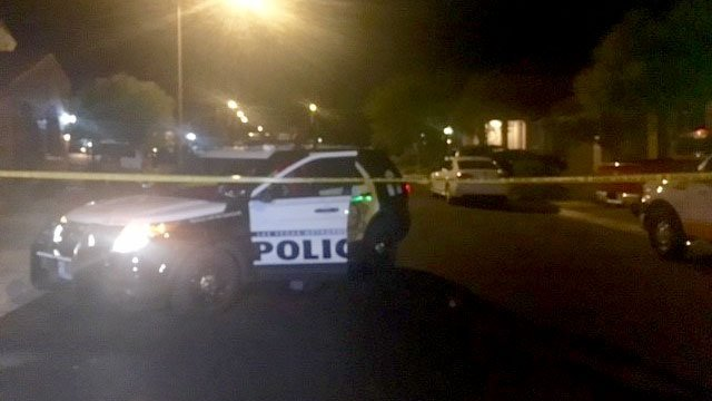 Police are investigating a possible murder-suicide leaving an infant, man and woman dead near Cactus and Rainbow. (FOX5)