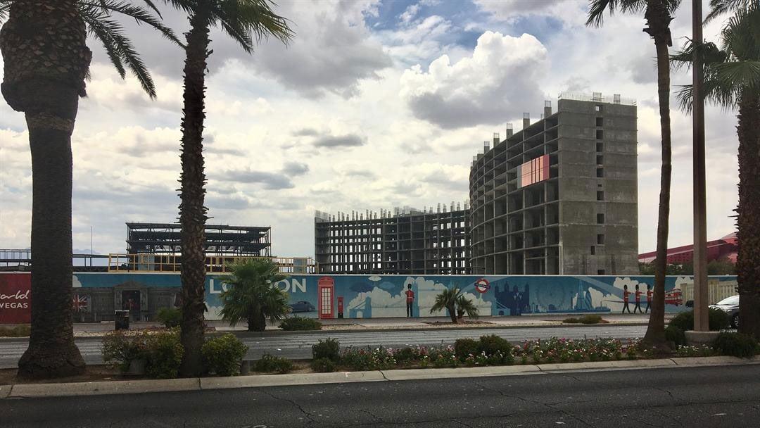 "Resorts World has had ""increased activity"" at its construction site on the Las Vegas Strip. (Jason Westerhaus / FOX5)"