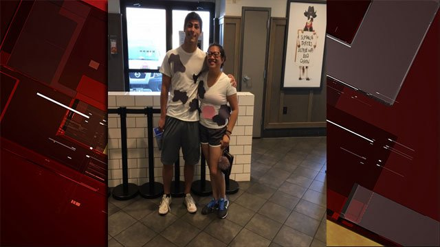 Chick-fil-A fans can score a free meal on July 11, 2017 by dressing like a cow! (Les Krifaton/FOX5)