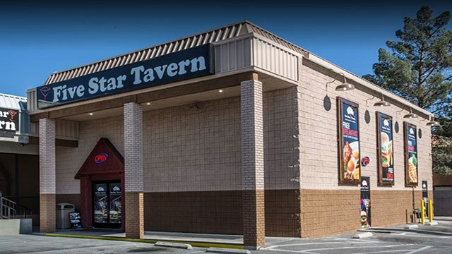 Five Star Tavern on Rainbow Boulevard (Google Maps).