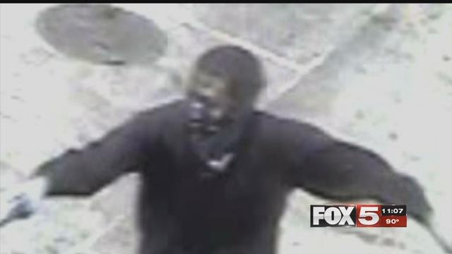 Police said they are searching for two men who robbed two armored trucks. (LVMPD)
