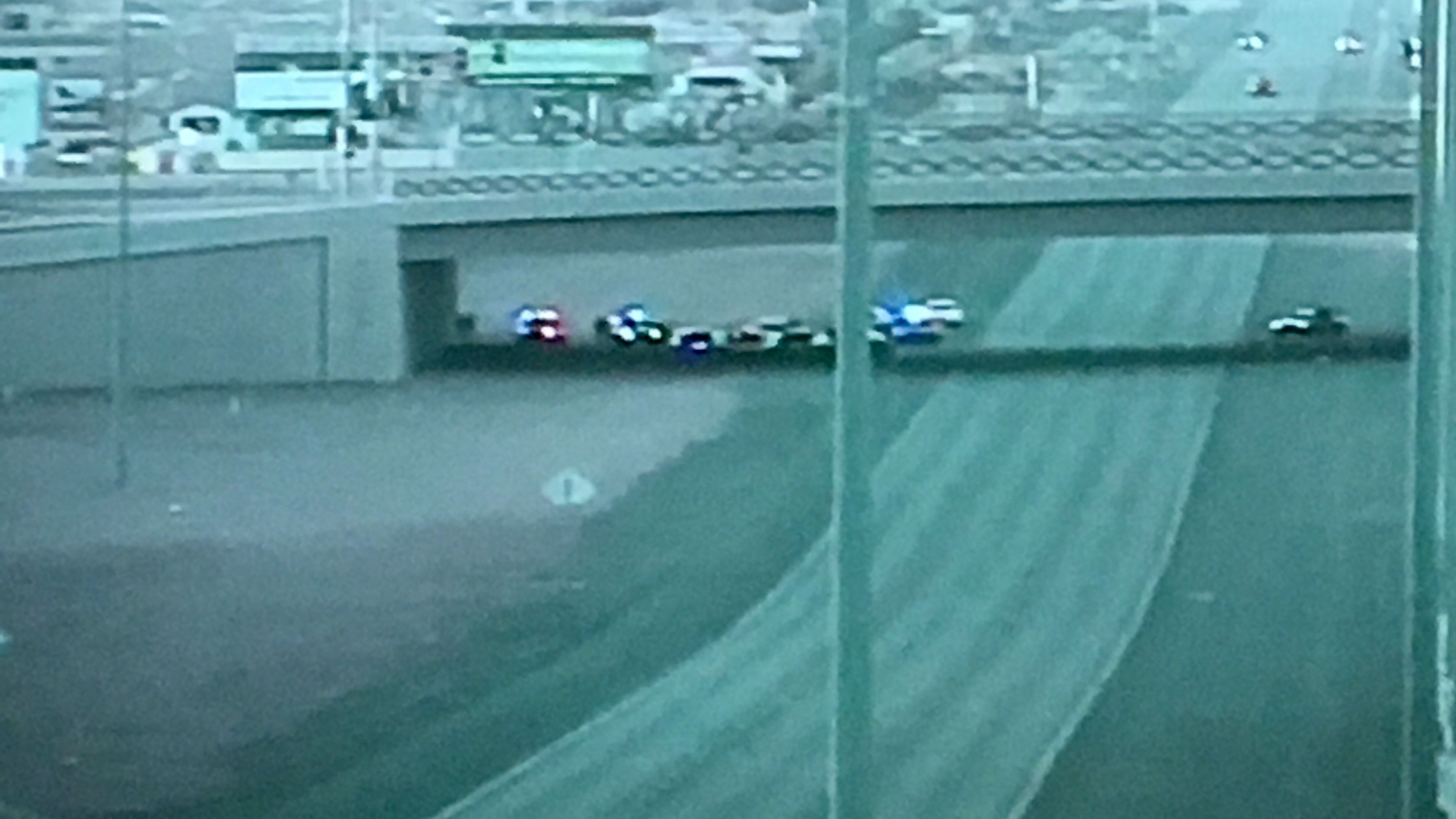 A male with felony warrantswas barricaded on Interstate 15 near St. Rose Parkway, shutting down the freeway.