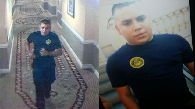 Metro police are searching for a sexual assault suspect shown in surveillance images. (Source: LVMPD)