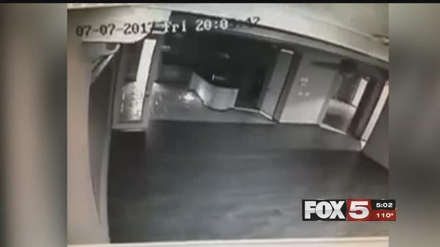 Teens trashed a valley home for sale and were caught on camera.
