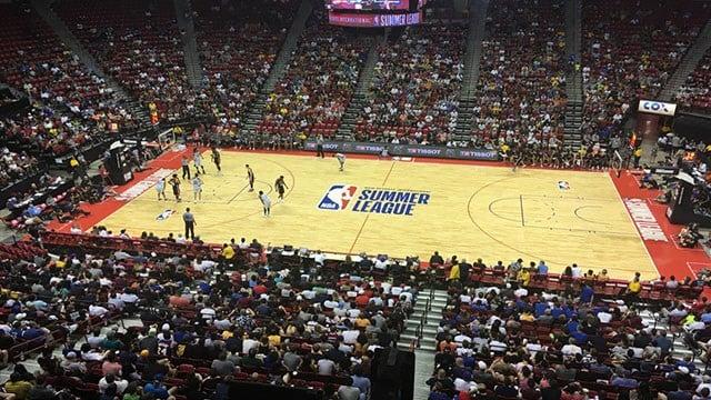 The 2017 NBA Summer League set records for attendance. (FOX5)