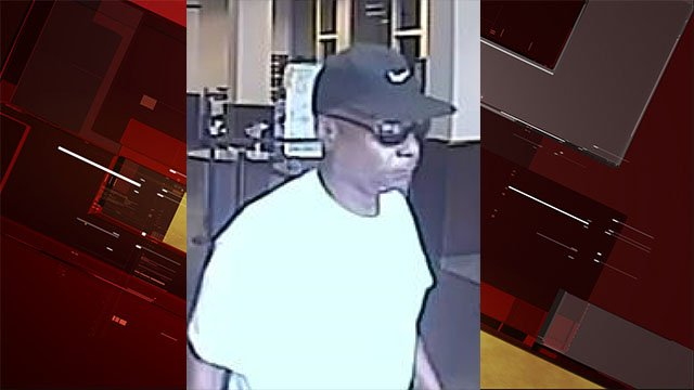 Police said they're searching for a bank robbery suspect from a July 18 case. (LVMPD)
