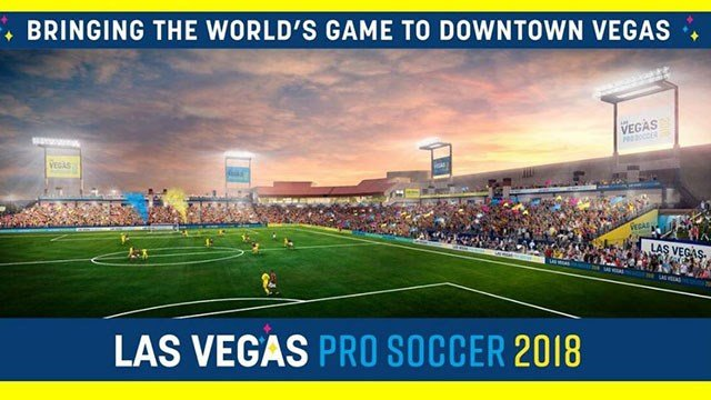Las Vegas pro soccer 2018. (Courtesy: City of Las Vegas)
