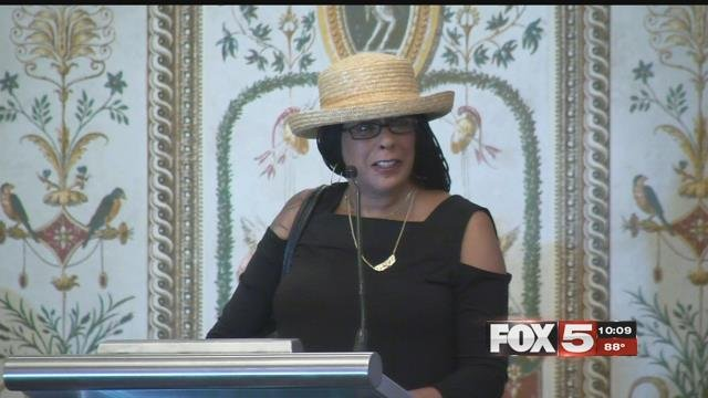 Tashii Brown-Farmer's mother spoke publicly for the first time since his death at a film screening in Las Vegas. (FOX5)