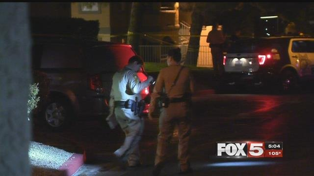 A man is dead and police saida neighbor is responsible, but he wasn't arrested. It happened at the Meadow Apartments near Alta and Decatur around 10 p.m.Thursday. (FOX5)