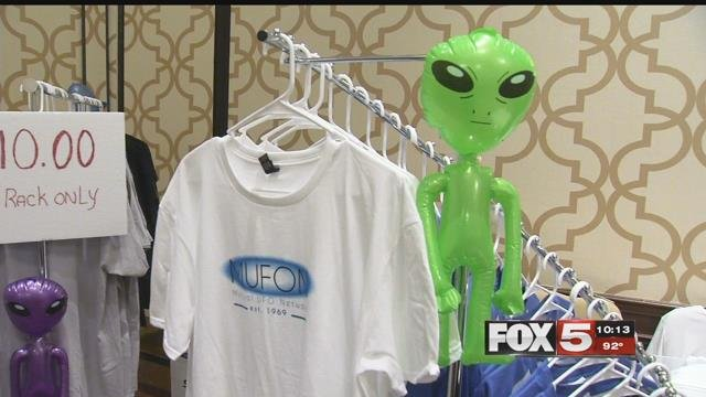 An out-of-this world conference kicked off in Las Vegas Friday.