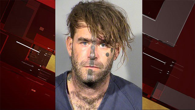 Aaron Park, 39, faces one count of murder with a deadly weapon for fatally stabbing a man in the neck (LVMPD).