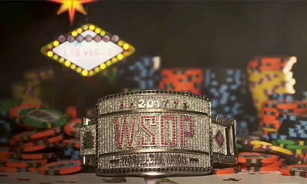 A man from New Jersey won the World Series of Poker in 2017.