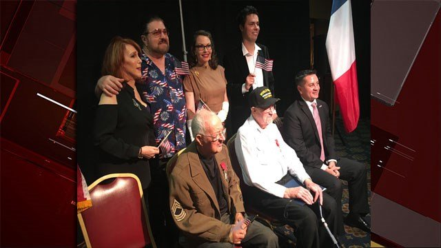 Two local were heroes were honored over the weekend. (Peter Dawson/FOX5)