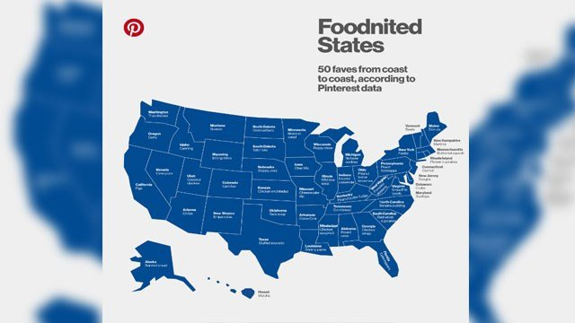 According to Pinterest, the most popular food on its site in Nevada is cake pops. (Source: Pinterest)
