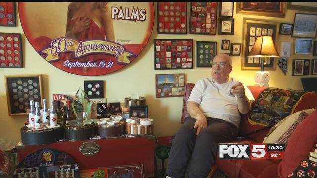 For Sheldon and Christine Smith, Las Vegas has more than just a special place in their heart.(Eric Hilt / FOX5)
