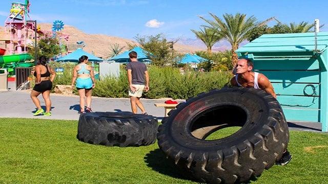 Rhino Race at Wet'n'Wild. (Courtesy: Wet'n'Wild Las Vegas)