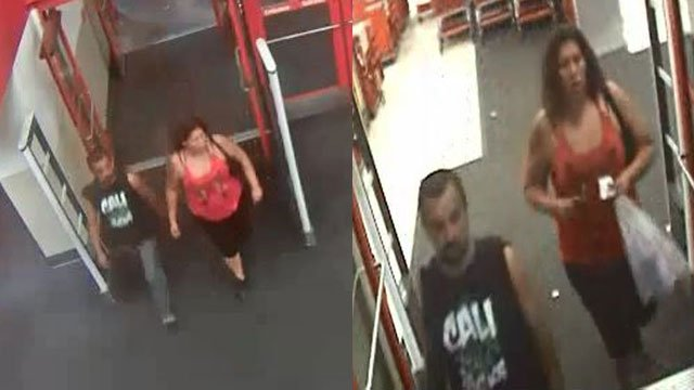 LVMPD detectives are searching for two persons of interest in a robbery case. (Source: LVMPD)