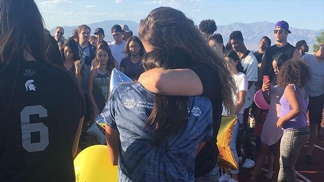 Friends shared memories of a teen killed while hiking in Washington. (Kathleen Jacob / FOX5)