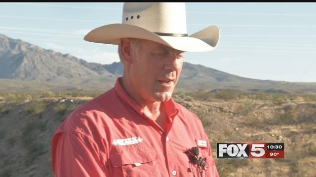 Secretary of Interior Ryan Zinke addressed the state of monuments in Nevada.  (FOX5).