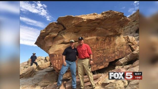 Sec. of the Interior Ryan Zinke toured Nevada monuments.