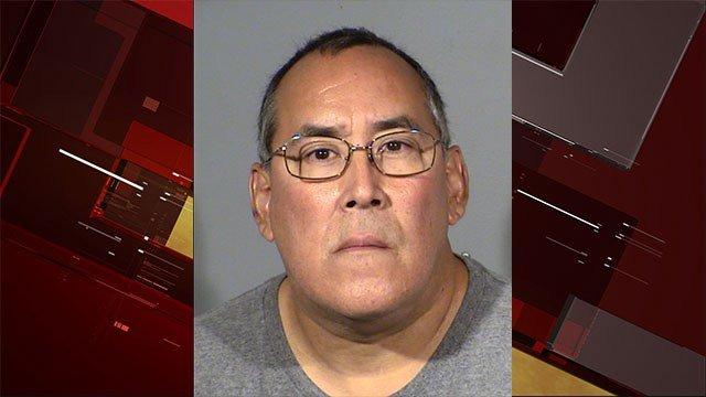Samuel Jaramillo was arrested for pointing a gun at an off-duty officer. (LVMPD)
