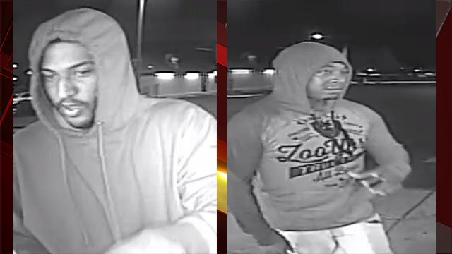 LVMPD is searching for two suspects in a west Las Vegas armed robbery (LVMPD / FOX5).