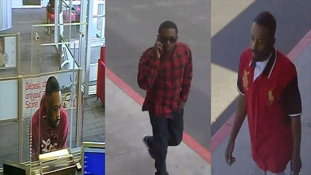 Police said they are searching for a man suspected of multiple bank robberies. (Source: LVMPD)
