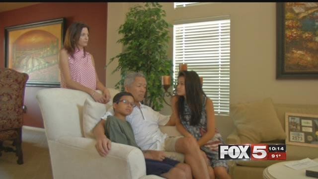 A Valley family was searching for the Good Samaritans who saved a husband and father. (Faith Tanner/FOX5)