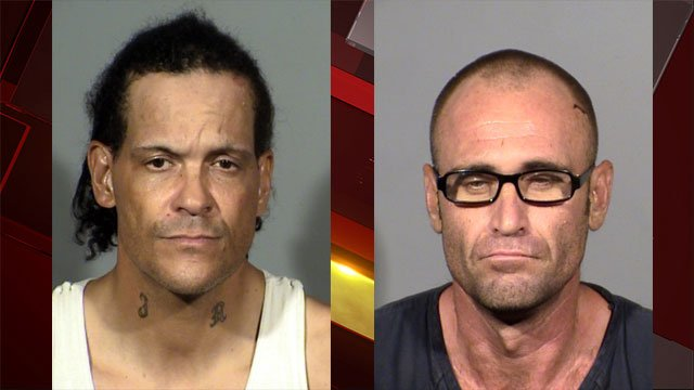 Jimmy Roper (left) and Larry Rinker (right). (Source: LVMPD)