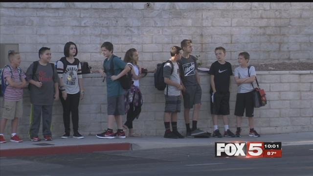 Summer is over for students at Clark County School District schools.