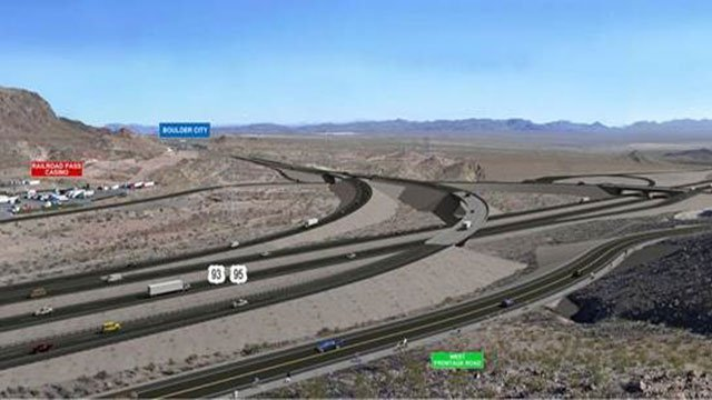 © A depiction of the Interstate 11 project (NDOT / FOX5).