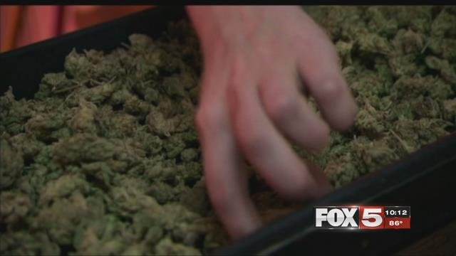 "Marijuana businesses in Las Vegas were warned not to host ""activities."" (FOX5)"