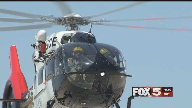 The Las Vegas Metropolitan Police Department has a new addition taking the force to new heights: a brand new helicopter. (FOX5)